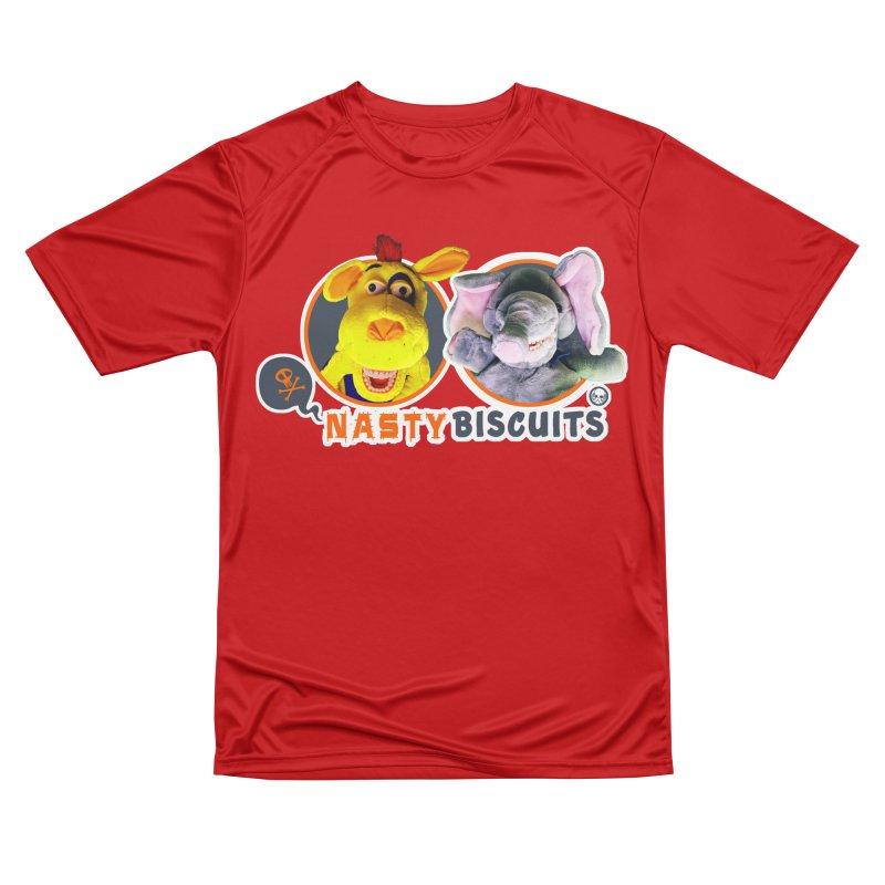 Nasty Biscuits Logo Women's Performance Unisex T-Shirt by OniiChan's Artist Shop