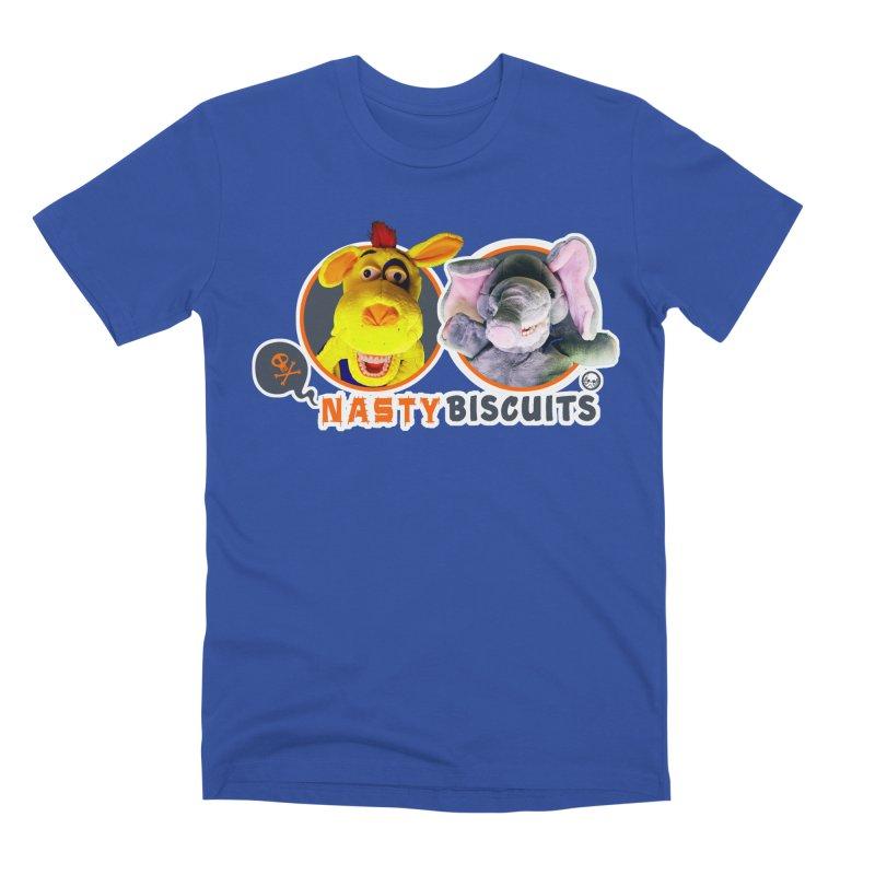 Nasty Biscuits Logo Men's Premium T-Shirt by OniiChan's Artist Shop