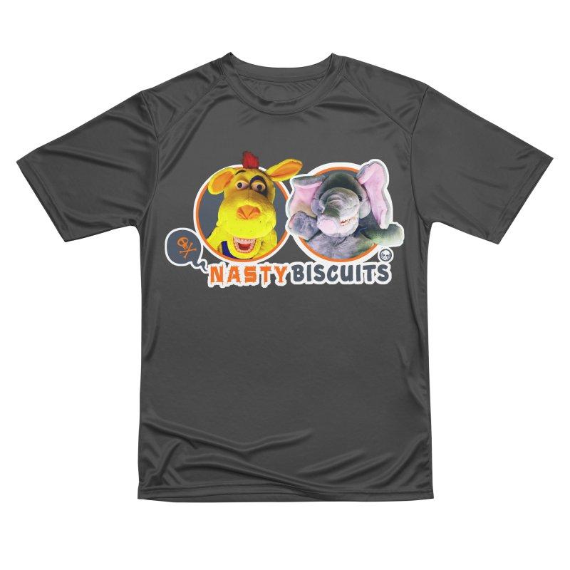 Nasty Biscuits Logo Men's Performance T-Shirt by OniiChan's Artist Shop