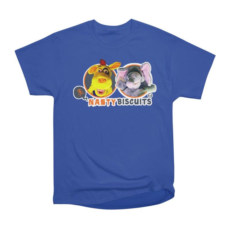 Nasty Biscuits Logo Men's Heavyweight T-Shirt by OniiChan's Artist Shop