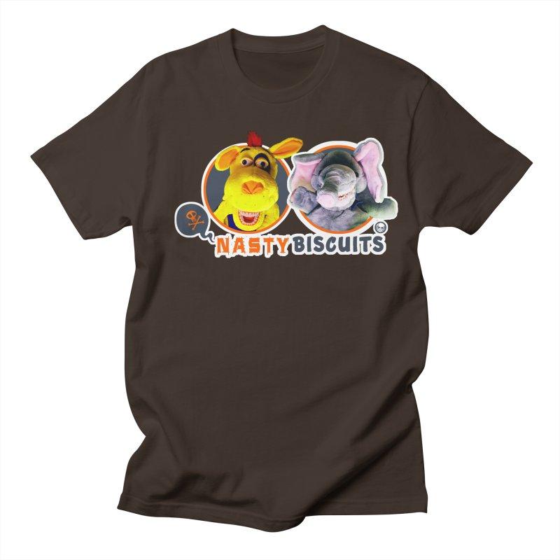 Nasty Biscuits Logo Men's Regular T-Shirt by OniiChan's Artist Shop