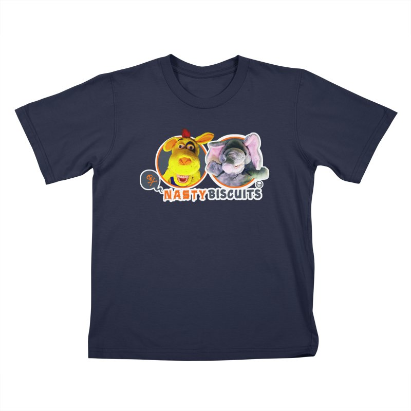 Nasty Biscuits Logo Kids T-Shirt by OniiChan's Artist Shop