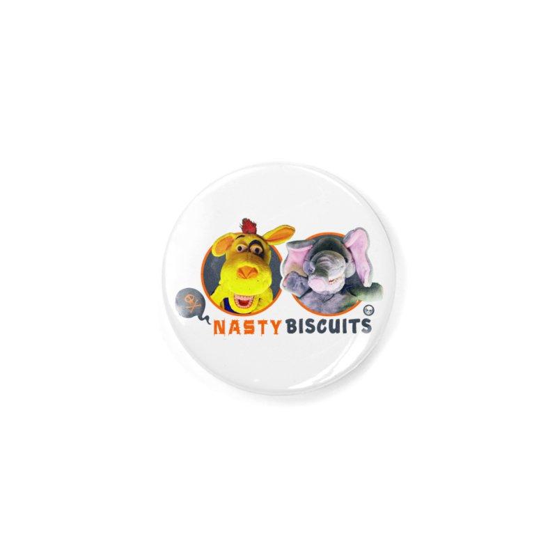 Nasty Biscuits Logo Accessories Button by OniiChan's Artist Shop