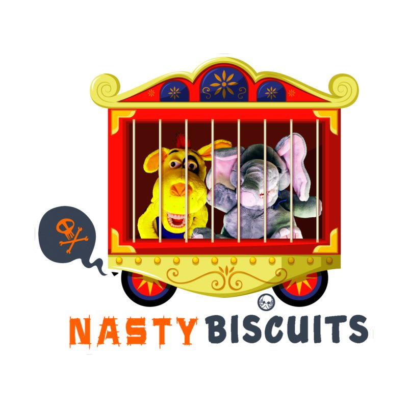 Nasty Biscuits Circus Accessories Skateboard by OniiChan's Artist Shop