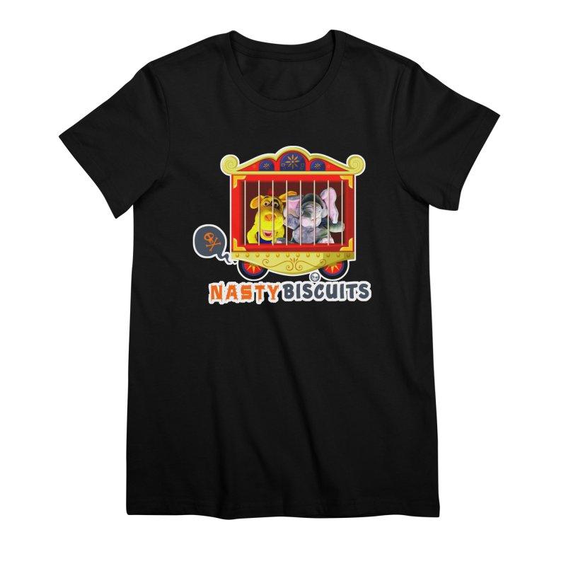 Nasty Biscuits Circus Women's Premium T-Shirt by OniiChan's Artist Shop