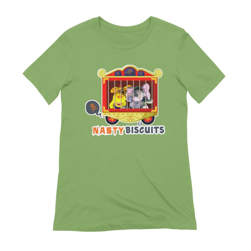 Nasty Biscuits Circus Women's Extra Soft T-Shirt by OniiChan's Artist Shop