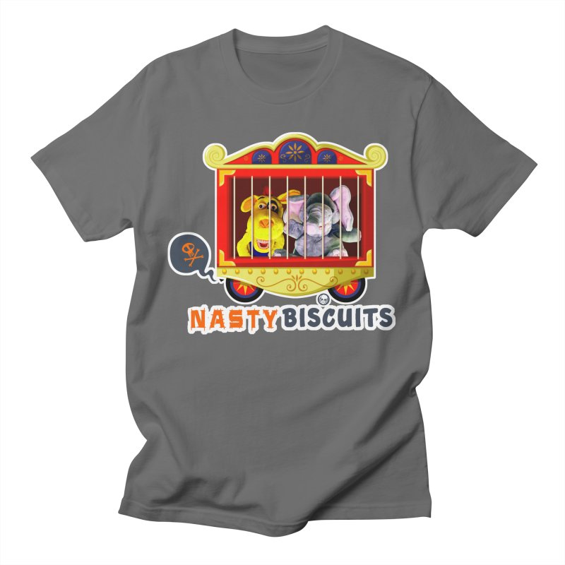Nasty Biscuits Circus Men's T-Shirt by OniiChan's Artist Shop