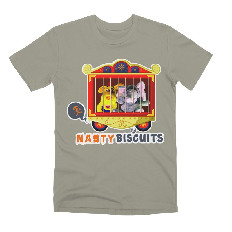 Nasty Biscuits Circus Men's Premium T-Shirt by OniiChan's Artist Shop