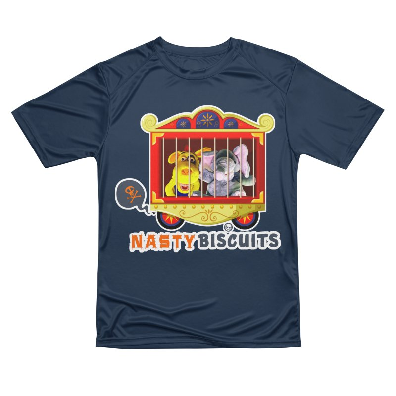 Nasty Biscuits Circus Men's Performance T-Shirt by OniiChan's Artist Shop