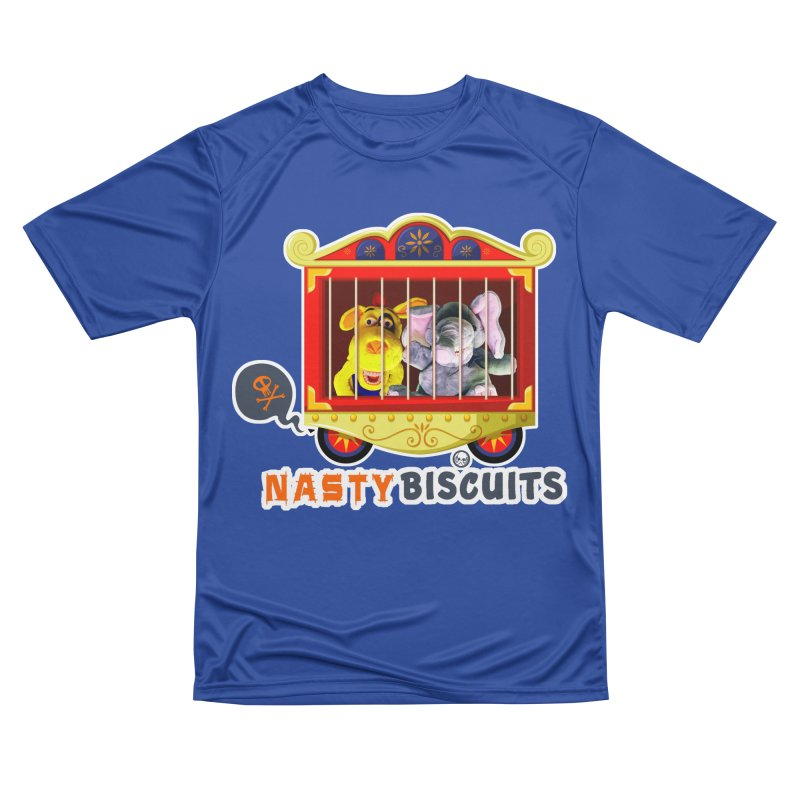 Nasty Biscuits Circus Women's Performance Unisex T-Shirt by OniiChan's Artist Shop