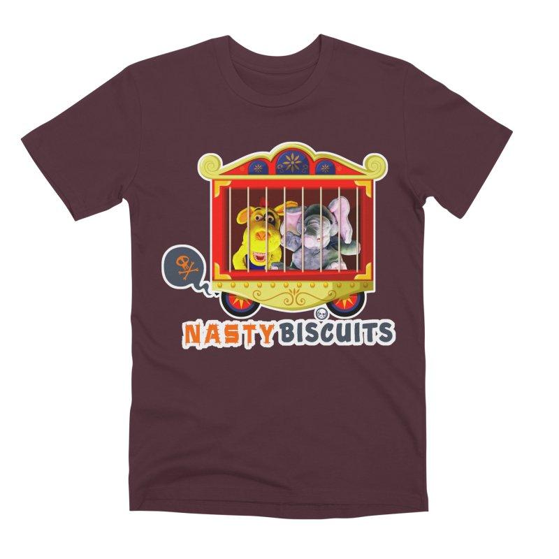 Nasty Biscuits Circus Men's Premium T-Shirt by OniiChan's Artist Shop
