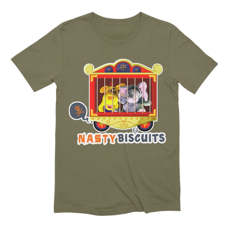 Nasty Biscuits Circus Men's Extra Soft T-Shirt by OniiChan's Artist Shop