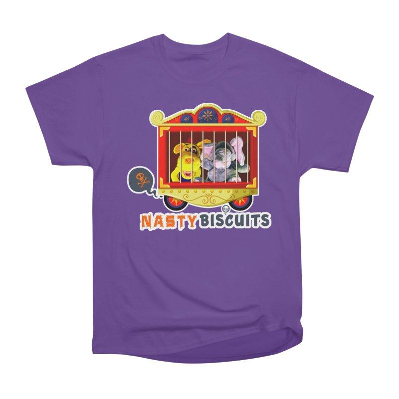 Nasty Biscuits Circus Women's Heavyweight Unisex T-Shirt by OniiChan's Artist Shop
