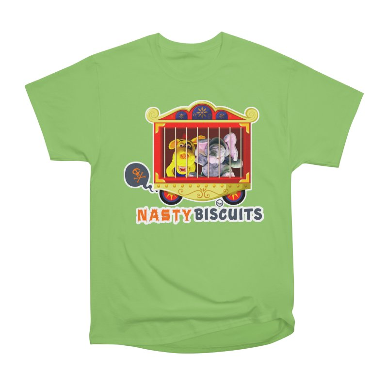 Nasty Biscuits Circus Men's Heavyweight T-Shirt by OniiChan's Artist Shop