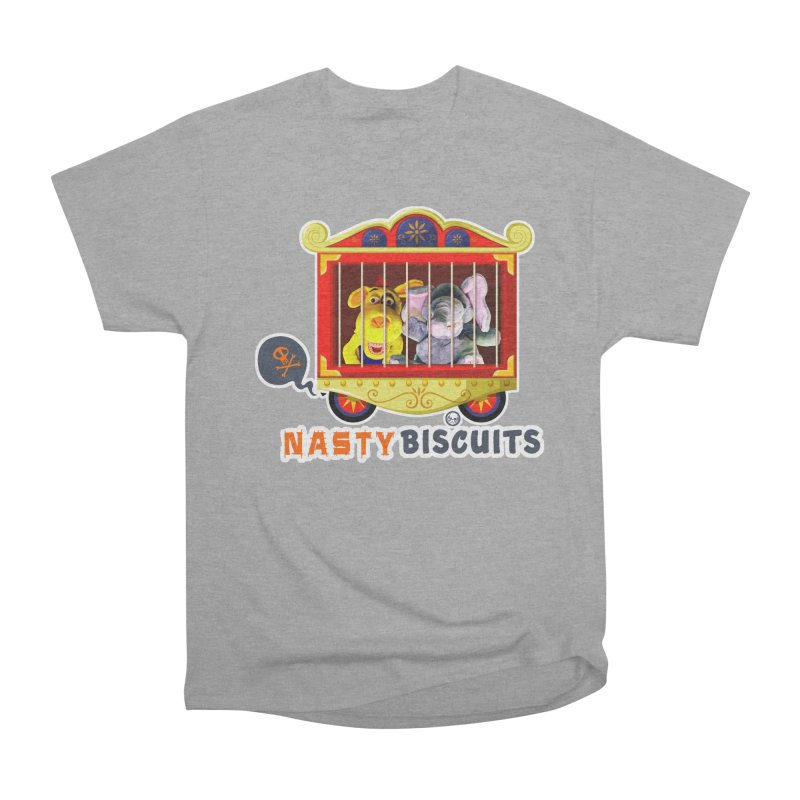 Nasty Biscuits Circus Women's Heavyweight Unisex T-Shirt by OniiChan's Artist Shop