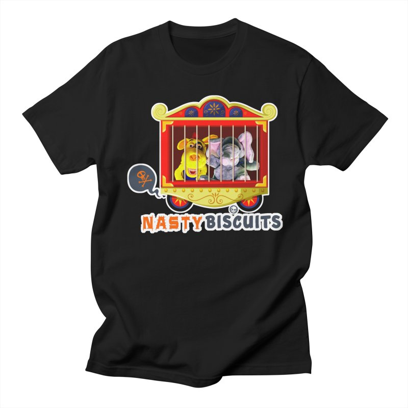 Nasty Biscuits Circus Men's Regular T-Shirt by OniiChan's Artist Shop