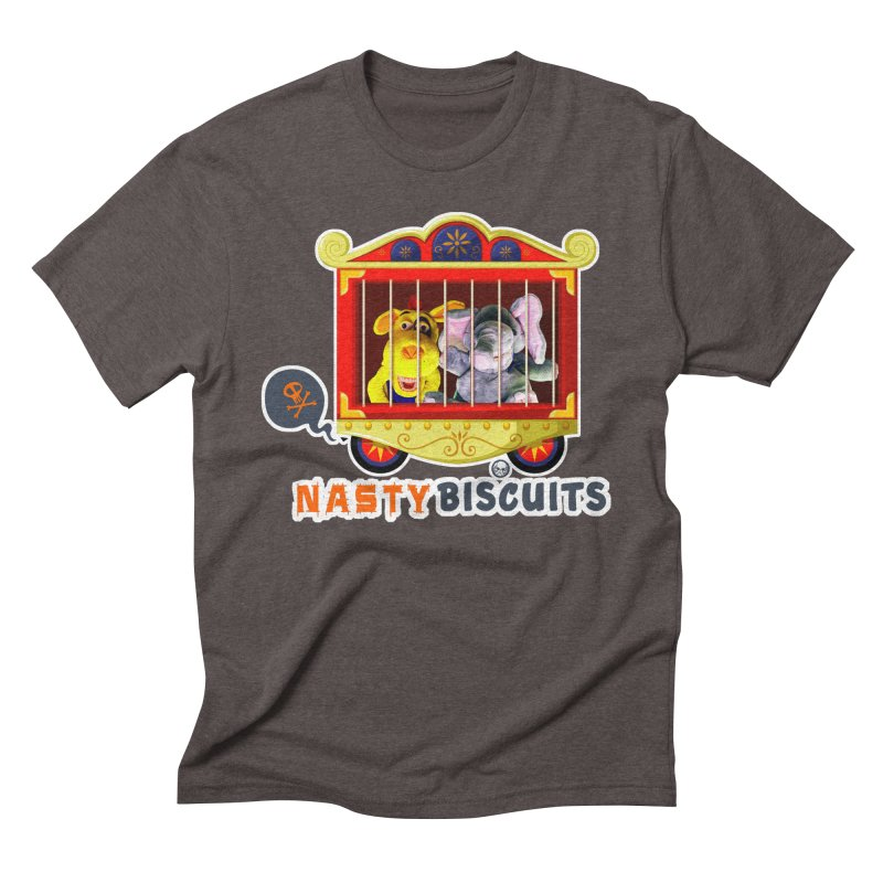 Nasty Biscuits Circus Men's Triblend T-Shirt by OniiChan's Artist Shop