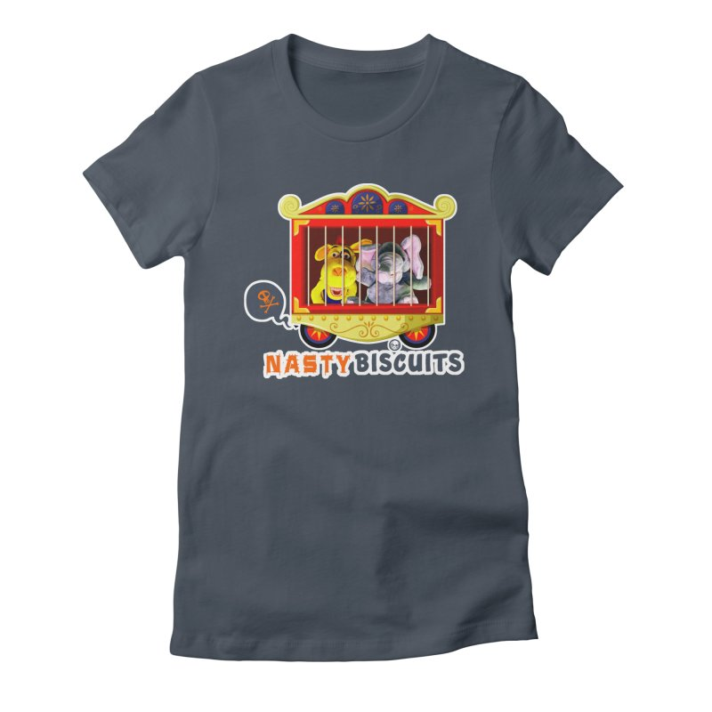 Nasty Biscuits Circus Women's T-Shirt by OniiChan's Artist Shop