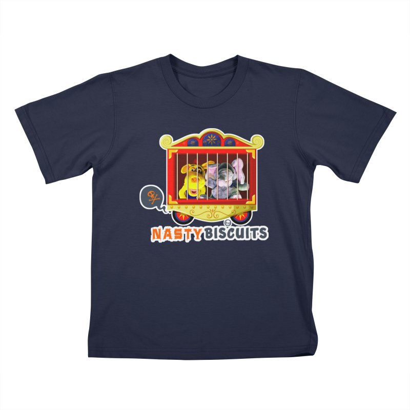 Nasty Biscuits Circus Kids T-Shirt by OniiChan's Artist Shop