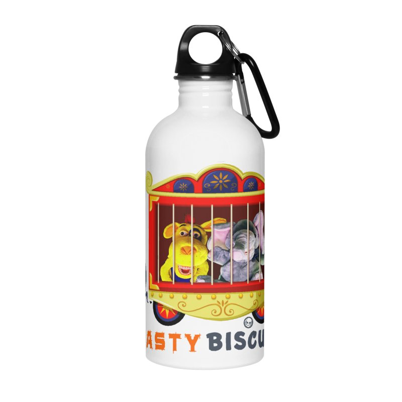 Nasty Biscuits Circus Accessories Water Bottle by OniiChan's Artist Shop