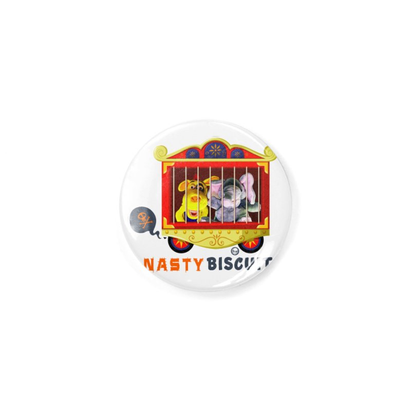 Nasty Biscuits Circus Accessories Button by OniiChan's Artist Shop
