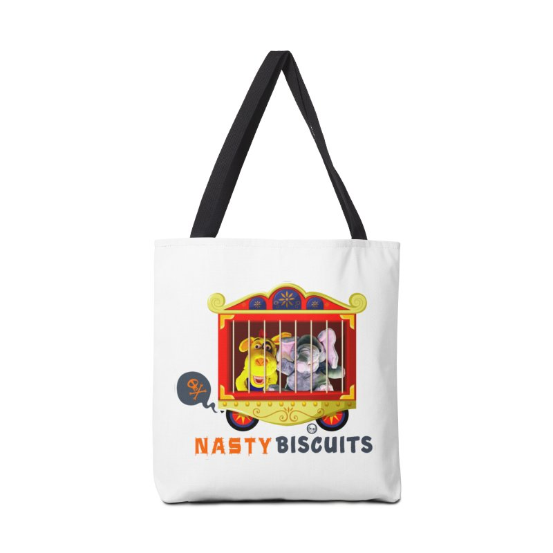 Nasty Biscuits Circus Accessories Tote Bag Bag by OniiChan's Artist Shop