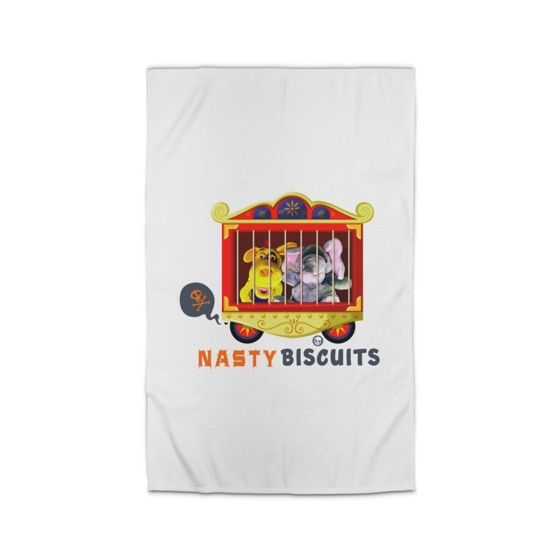 Nasty Biscuits Circus Home Rug by OniiChan's Artist Shop