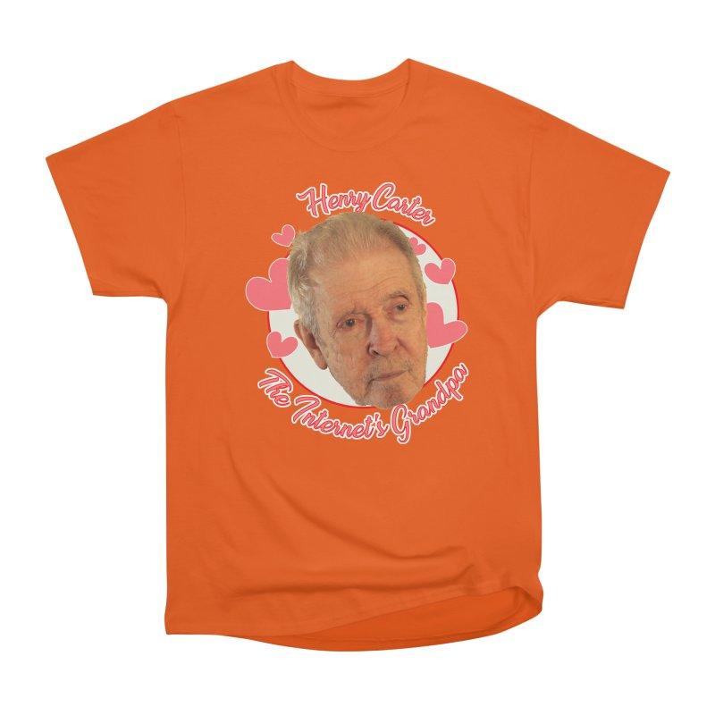 Henry Carter The Internet's Grandpa Men's T-Shirt by OniiChan's Artist Shop