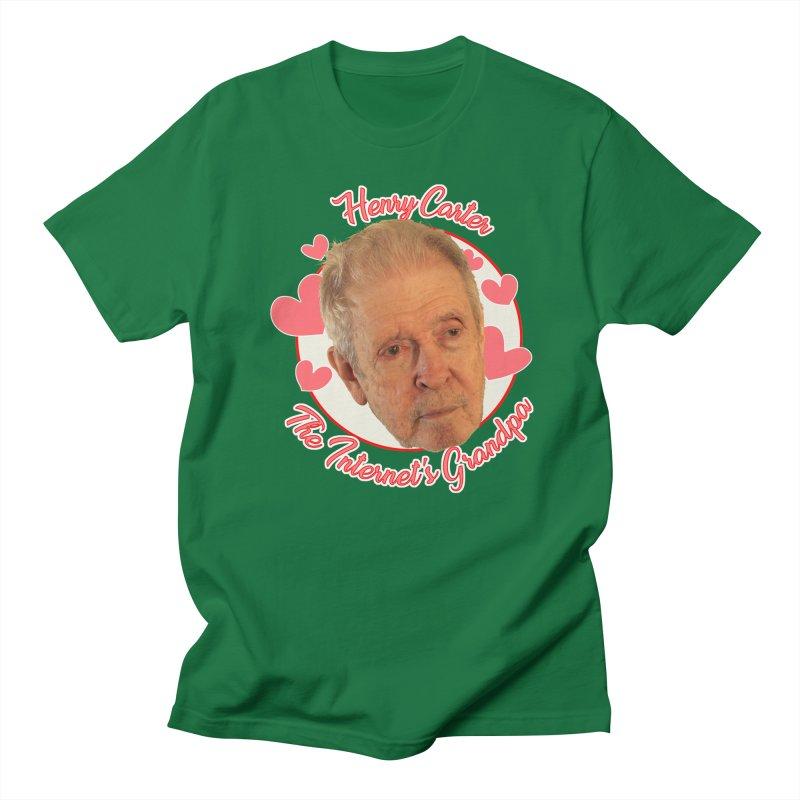 Henry Carter The Internet's Grandpa Women's Regular Unisex T-Shirt by OniiChan's Artist Shop