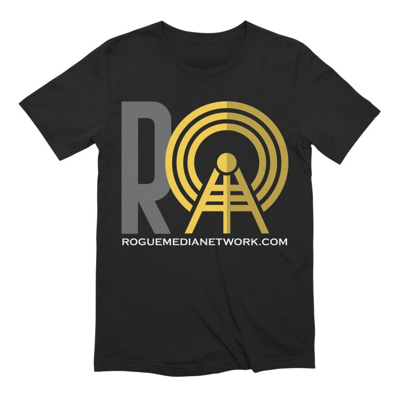Rogue Media Network Logo Men's T-Shirt by OniiChan's Artist Shop