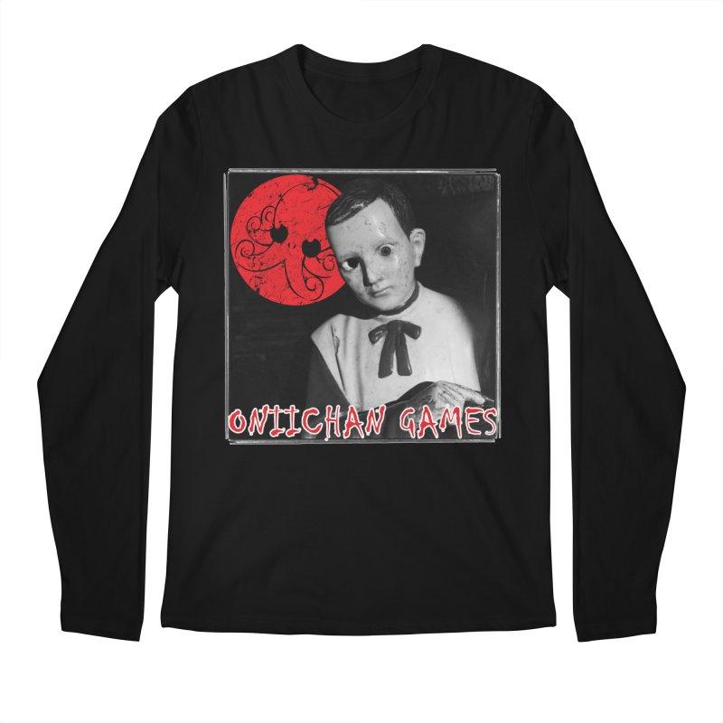 OniiChan Dummy Eyes Men's Regular Longsleeve T-Shirt by OniiChan's Artist Shop