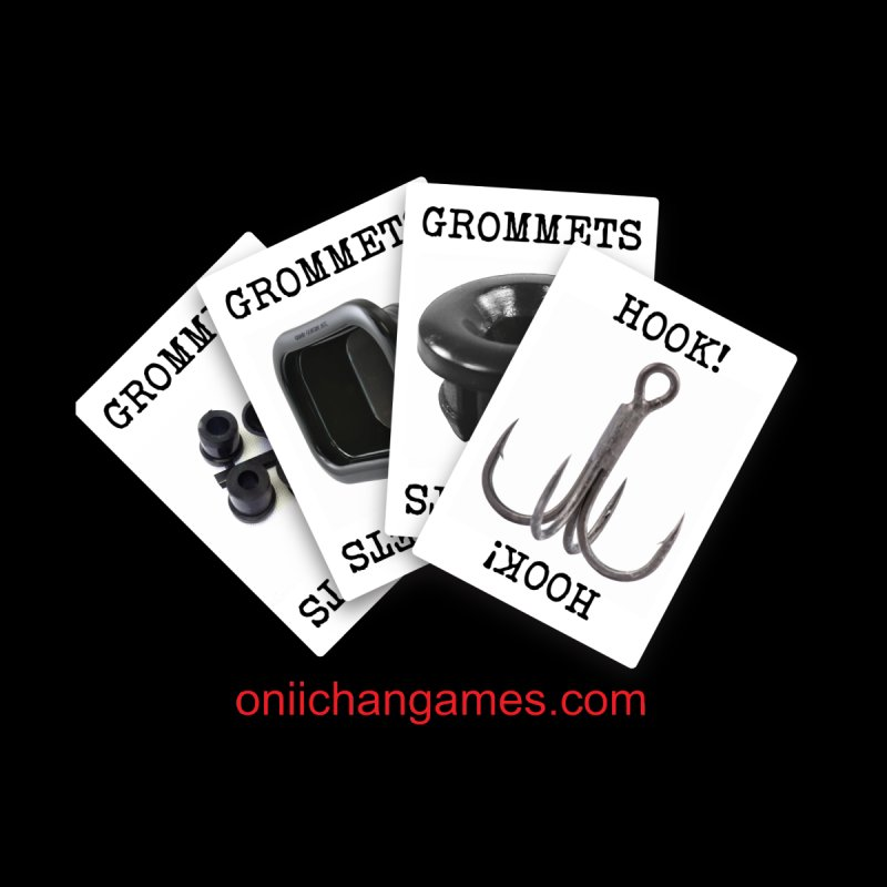Grommets and Hooks by OniiChan's Artist Shop
