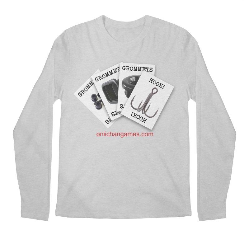 Grommets and Hooks Men's Regular Longsleeve T-Shirt by OniiChan's Artist Shop