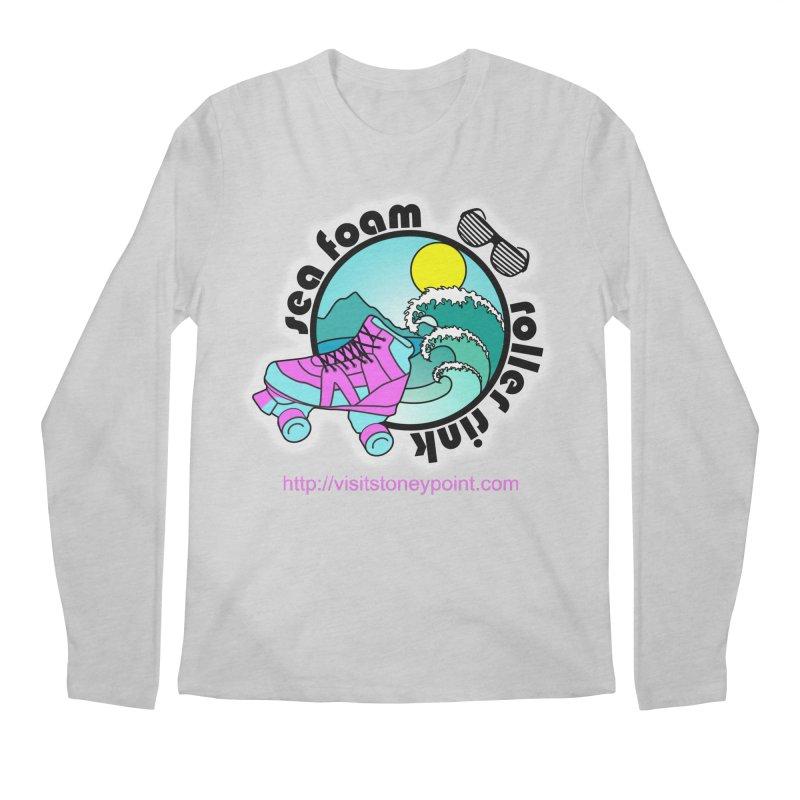 Stoney Point's Sea Foam Roller Rink Men's Regular Longsleeve T-Shirt by OniiChan's Artist Shop