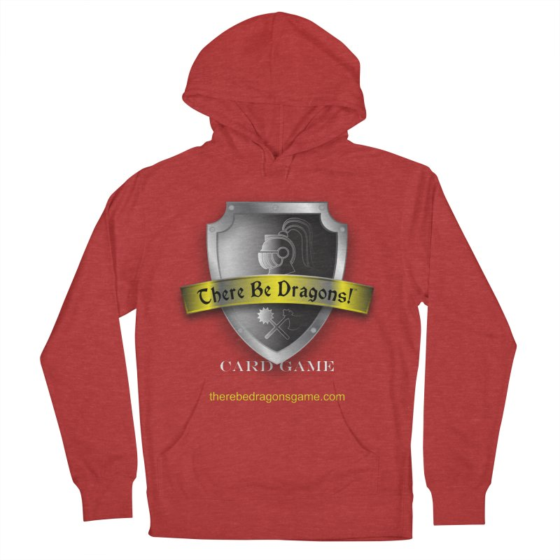 There Be Dragons Card Game Women's Pullover Hoody by OniiChan's Artist Shop
