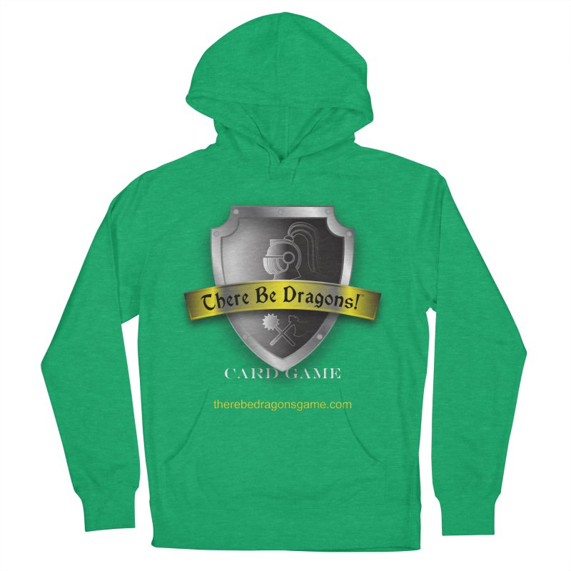 There Be Dragons Card Game Men's Pullover Hoody by OniiChan's Artist Shop