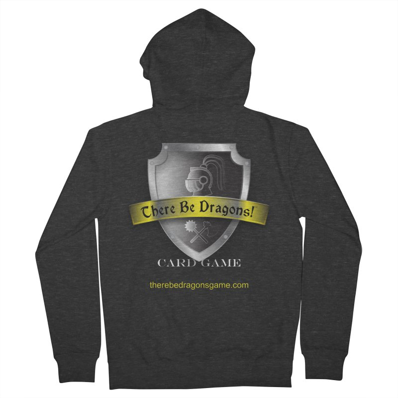 There Be Dragons Card Game Women's Zip-Up Hoody by OniiChan's Artist Shop