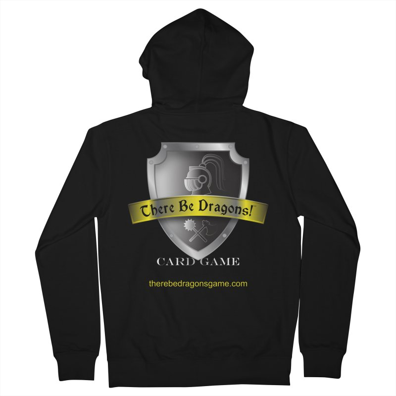 There Be Dragons Card Game Men's Zip-Up Hoody by OniiChan's Artist Shop