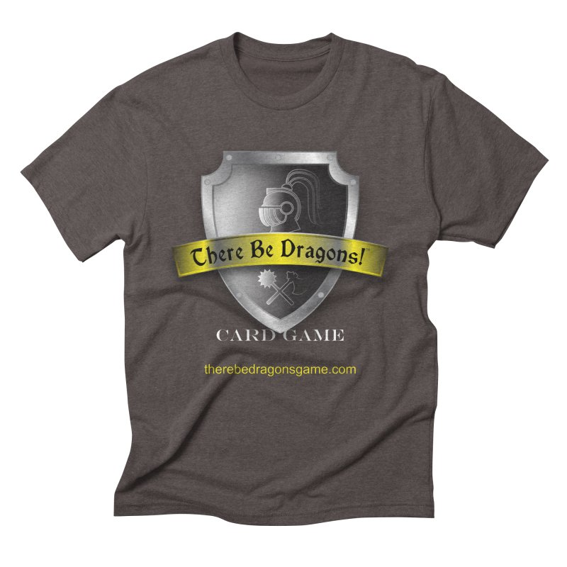 There Be Dragons Card Game Men's Triblend T-Shirt by OniiChan's Artist Shop