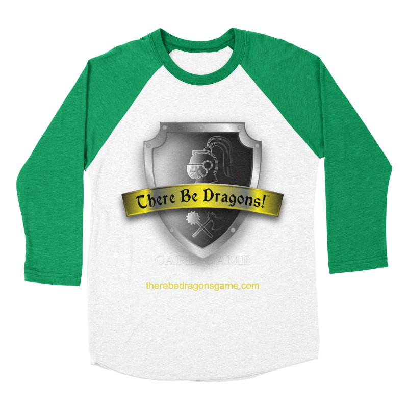 There Be Dragons Card Game Women's Baseball Triblend T-Shirt by OniiChan's Artist Shop