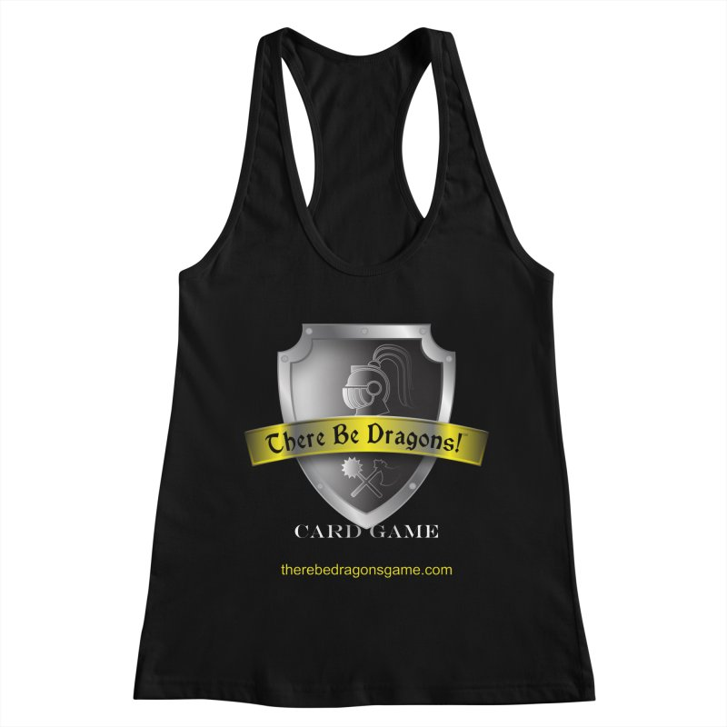 There Be Dragons Card Game Women's Racerback Tank by OniiChan's Artist Shop