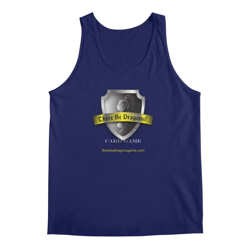 There Be Dragons Card Game Men's Tank by OniiChan's Artist Shop