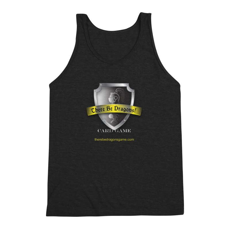 There Be Dragons Card Game Men's Triblend Tank by OniiChan's Artist Shop
