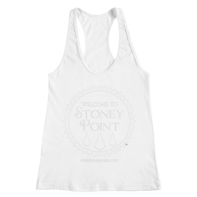 Visit Stoney Point Women's Racerback Tank by OniiChan's Artist Shop