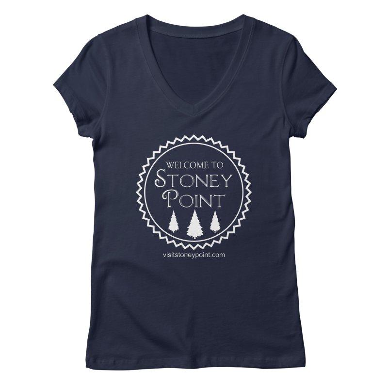 Visit Stoney Point Women's V-Neck by OniiChan's Artist Shop