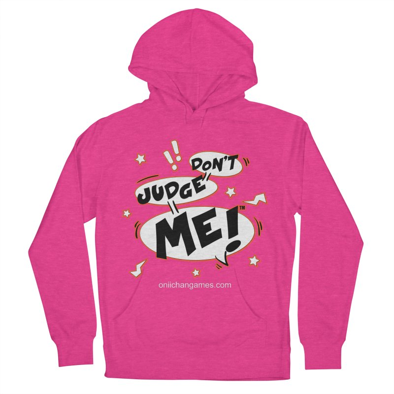 Don't Judge Me! Card Game Women's Pullover Hoody by OniiChan's Artist Shop