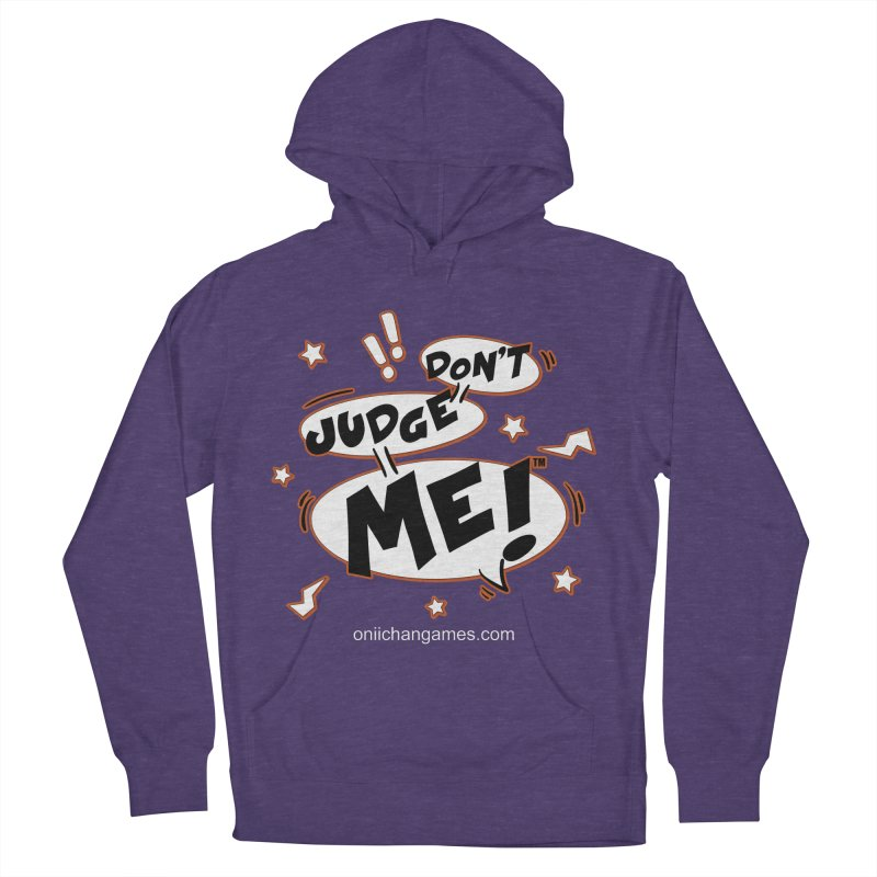 Don't Judge Me! Card Game Men's Pullover Hoody by OniiChan's Artist Shop