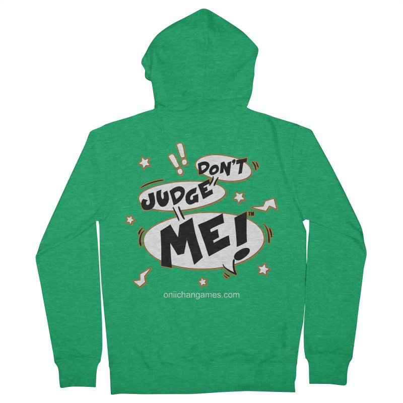 Don't Judge Me! Card Game Women's Zip-Up Hoody by OniiChan's Artist Shop