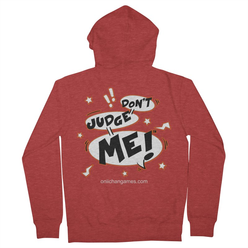 Don't Judge Me! Card Game Women's French Terry Zip-Up Hoody by OniiChan's Artist Shop