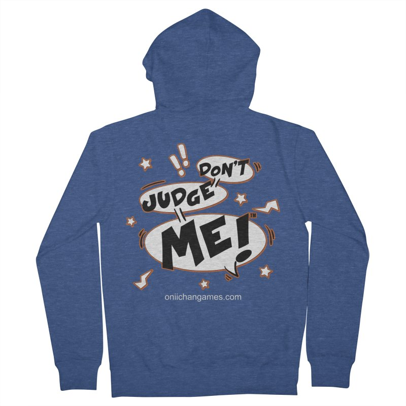 Don't Judge Me! Card Game Men's Zip-Up Hoody by OniiChan's Artist Shop